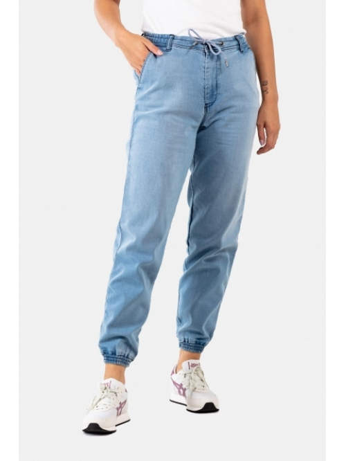 REELL REFLEX W´PANT LIGHT BLUE DENIM