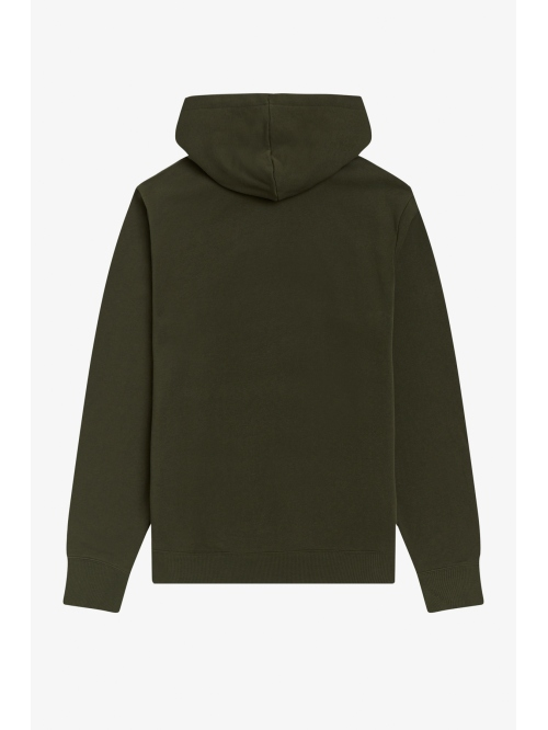 FRED PERRY EMBROIDERED HOODED SWEAT