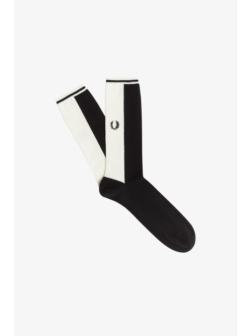 FRED PERRY CONTRAST PANEL SOCKS