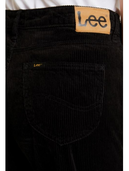 LEE 5 POCKET WIDE LEG W´JEANS BLACK CORD