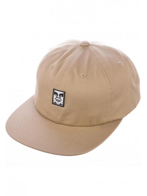 OBEY ICON FACE 6 PANEL STRAPBACK
