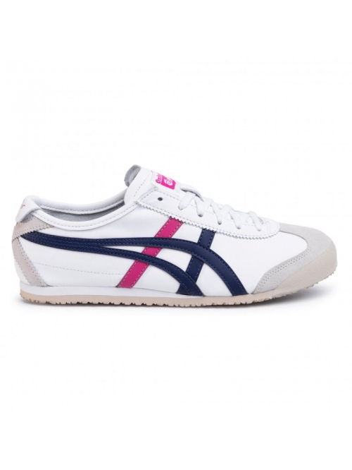 ONITSUKA MEXICO 66 SHOE WHITE/NAVY/PINK
