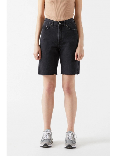 DRDENIM ECHO SHORTS CHARCOAL BLACK