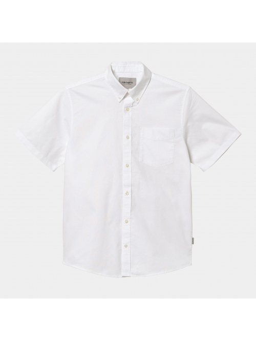 CARHARTT WIP S/S BUTTON DOWN SHIRT