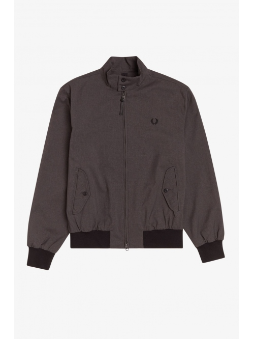 FRED PERRY MARL HARRINGTON JACKET GRAPHI