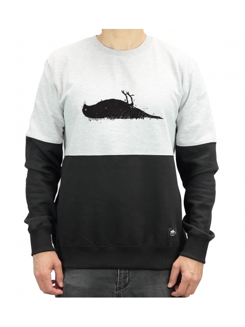 ATTICUS BIRD BLOCK SWEATER