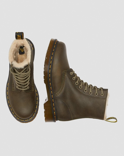 DR.MARTENS SERENA W`BOOT OLIVE WYOMING