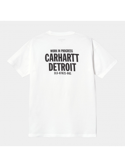 CARHARTT WIP S/S STATE FLAG HEART W`TS