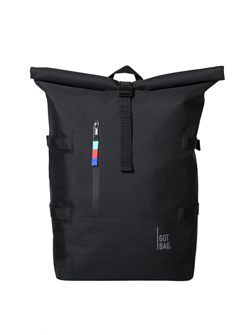 GOTBAG ROLLTOP BACKPACK BLACK